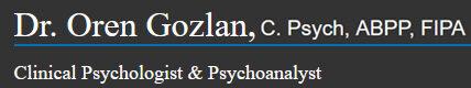 Dr. Oren Gozlan, C. Psych, ABPP, FIPA